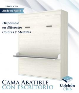 Cama Abatible Vertical con escritorio disponible en diferentes colores y medidas Ref Y32000