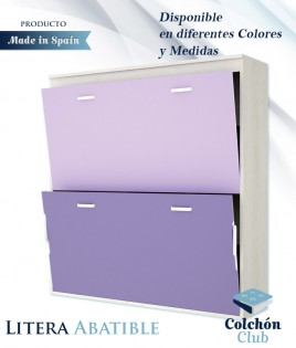 Litera Abatible Horizontal disponible en diferentes colores y medidas Ref Y33000