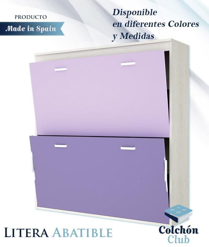 Litera Abatible Horizontal Disponible En Diferentes Colores Y