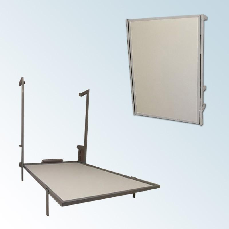 Cama Abatible Vertical Con Estructura Metálica Disponible En