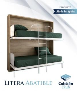 Litera Abatible Horizontal con opción de Altillo Ref N30000