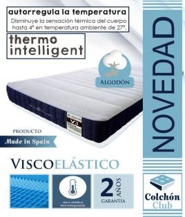 Colchoneta Viscoelástica Multietapa Termo inteligente con Autorregulación de temperatura Ref W13000
