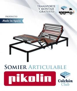 Somier Articulable Eléctrico Pikolin modelo Futurlam Metálico Ref P91100