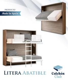 Litera Abatible Horizontal con opción de Altillo Ref N56000