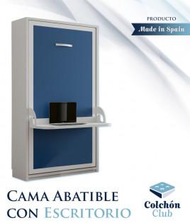 Cama Abatible Vertical con Escritorio Ref N60000