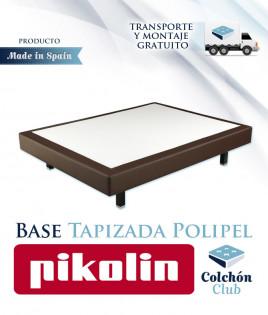 Base Tapizada Pikolin modelo Canapé Premium con acabado Polipiel Ref P37000