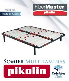 Somier Pikolin modelo SM70 con multiláminas fabricadas en fibra de carbono Ref P28000