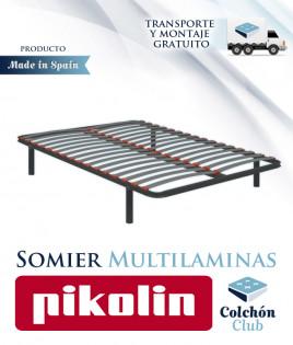 Somier multiláminas Pikolin modelo SG16 Ref P20000