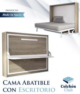 Cama Abatible Horizontal con Escritorio Ref N62000