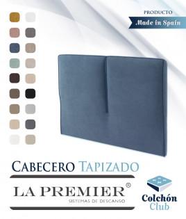 Cabecero tapizado La Premier con ribete Ref LP02