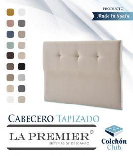 Cabecero tapizado La Premier con botones Ref LP04