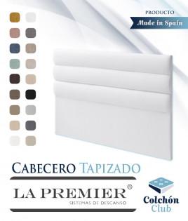 Cabecero tapizado La Premier con acolchado curvado Ref LP05