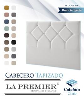 Cabecero tapizado La Premier con botones cristal de Swarovski Ref LP07