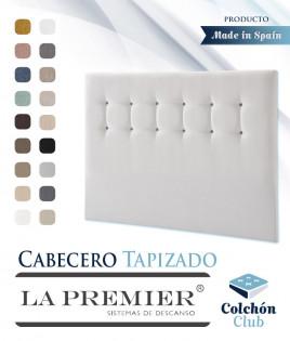 Cabecero tapizado La Premier con botones Ref LP08