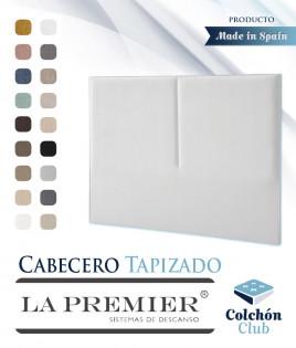 Cabecero tapizado La Premier con raya central Ref LP09