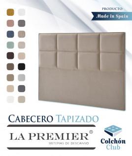 Cabecero tapizado La Premier con marco perimetral Ref LP10