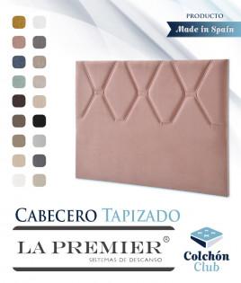 Cabecero tapizado La Premier con acolchado en Rombos Ref LP13
