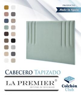 Cabecero tapizado La Premier con rayas verticales Ref LP15