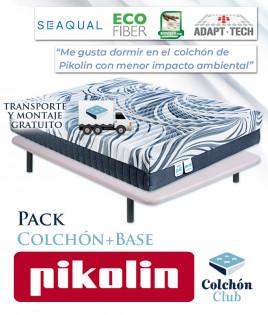 Pack Pikolin, colchón modelo Ecopik y Base tapizada Ref P267000