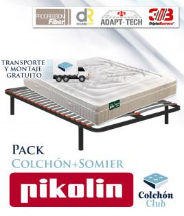 Pack Pikolin, colchón modelo Activepik y somier multiláminas Ref P269000