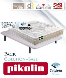 Pack Pikolin, colchón modelo Activepik y Base tapizada Ref P270000