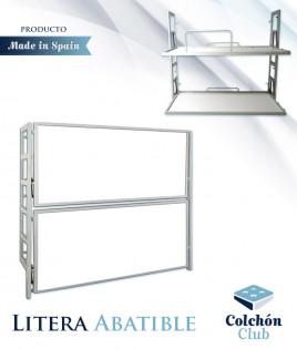 Litera Abatible Horizontal con estructura metálica Ref CM12000