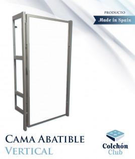 Cama Abatible vertical con estructura metálica Ref CM10000