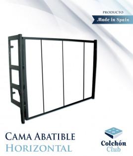 Cama Abatible horizontal con estructura metálica Ref CM11000