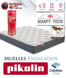 Colchón Pikolin modelo Galeon de muelles Ensacados, recíbelo en tu casa en 72 horas Ref P315000