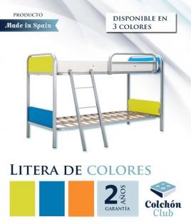 Litera con acabado en diferentes colores Ref S26000