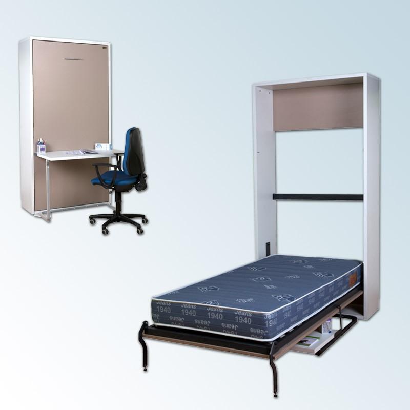 Cama abatible vertical con escritorio - Escritorio cama abatible ...