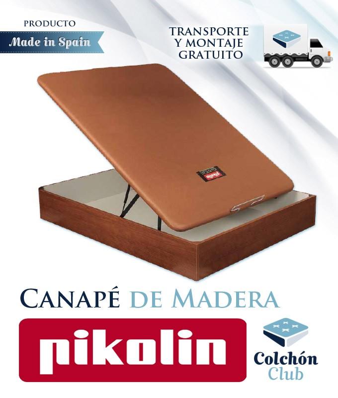 Canapé de Madera Fabricado por el Grupo Líder en España con Tapa Rígida Ref P49100
