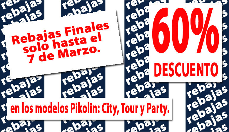 Descuento del 60% en colchones Pikolin City, Tour y Party